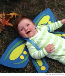 DIY Baby Butterfly Costume