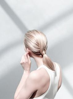 Wrap around ponytail perfection.