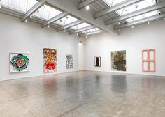 Nice Weather curated by David Salle at Skarstedt - Chelsea (2016)