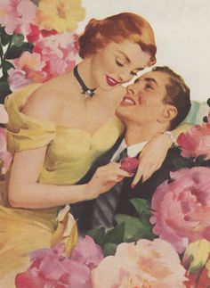 Vintage romance.