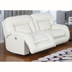 Bruno Dual Reclining Power Sofa - Overstock™ Shopping - Great Deals on Sofas & Loveseats