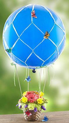 Butterfly Hot Air Balloon.