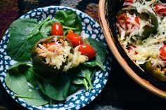 Cabin Cleaver: Southwestern Meatless Stuffed Peppers
