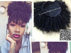 Women Hair Extensions Afro Kinky Curly Hair Ponytail Hairpiece Drawstring Ponytails Pieces Buns Peruca