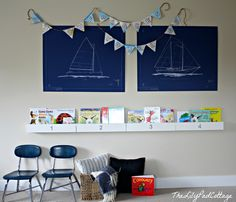 How To Make A Bookshelf Out Of...a Bookshelf And Other Playroom Fun