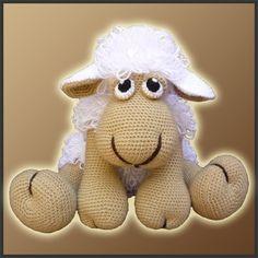 Patron PDF Crochet Elton La Oveja Amigurumi por DeliciousCrochet