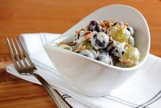 Creamy Grape Salad by pastryaffair, via Flickr