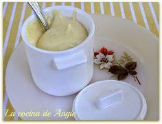 La cocina de Angie: MAYONESA SIN ACEITE