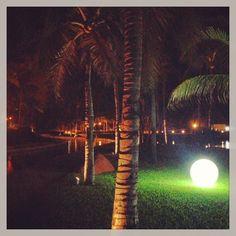 Night time, Acapulco Mx. 2013 Mayan Palace.