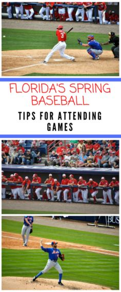 Tips for Florida's Spring Baseball Training Games Best Baseball Player, Baseball Tips, Baseball Games, Baseball Videos, Baseball Pictures, Baseball Field, Baseball Birthday Party, Adult Birthday Party, Florida Vacation