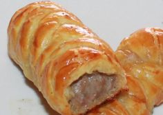 Sausage rolls with puff pastry...for my hubby