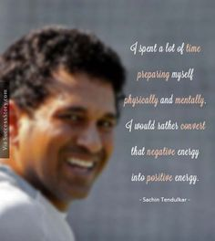 I spent a lot of time preparing ..... Find more Sachin Tendulkar Quotes http://successstory.com/quotes #sachintendulkarquotes #playerquotes #cricketplayerquotes