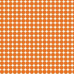 halloween dots orange fabric by misstiina on Spoonflower - custom fabric