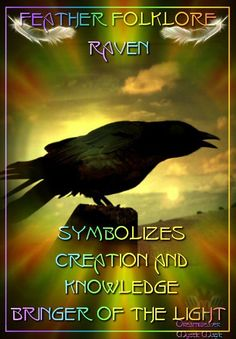 Feather Folklore – The Raven – Witches Of The Craft®