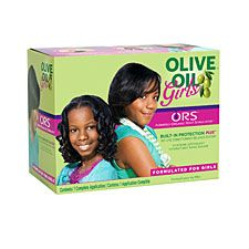 Olive Oil Girls by ORS Hair Care: Olive Oil Girls No-Lye Conditioning Relaxer System