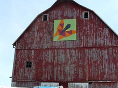 Butterfly by Ontario Barn Quilts, via Flickr