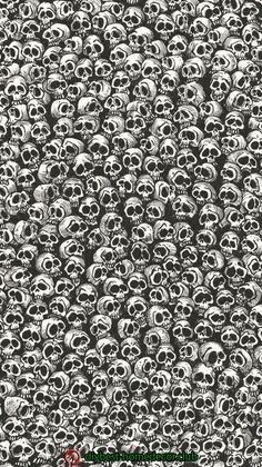 Doodle by naldojunio Gothic Wallpaper, Graffiti Wallpaper, Skull Wallpaper, Dark Wallpaper, Screen Wallpaper, Mobile Wallpaper, Pattern Wallpaper, Wallpaper Backgrounds, Cellphone Wallpaper