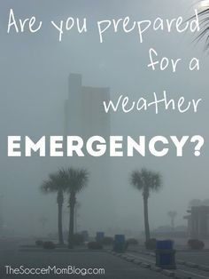 Are you ready in case of a weather emergency? Make your family storm and hurricane preparedness checklist - FREE printable! Survival Life Hacks, Survival Prepping, Survival Skills, Survival Stuff, Survival Quotes, Survival Gear, Hurricane Preparedness Checklist, Disaster Preparedness, Emergency Preparation