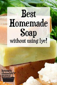 Handmade Soap Recipes, Soap Making Recipes, Handmade Soaps, Making Soap Without Lye, Diy Soap Recipe Without Lye, Diy Soap Natural, Diy Soap Easy, Homemade Soap Bars, Melt And Pour