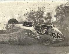 Reign of Methanol Sprint Car Racing, Dirt Track Racing, Back In My Day, Old Race Cars, Vintage Race Car, Race Day, Nascar, Champs, Reign