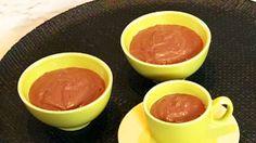 Mousse au tofu et chocolat - Recettes - À la di Stasio