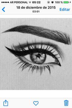 Amazing Learn To Draw Eyes Ideas. Astounding Learn To Draw Eyes Ideas. Art Drawings Sketches Simple, Pencil Art Drawings, Cool Drawings, Eye Pencil Drawing, Realistic Eye Drawing, Drawing Eyes, Amazing Drawings, Art Du Croquis, Eye Art