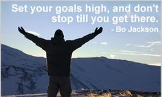 Don't stop until you get your goal!!