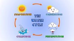 water cycle for children - YouTube