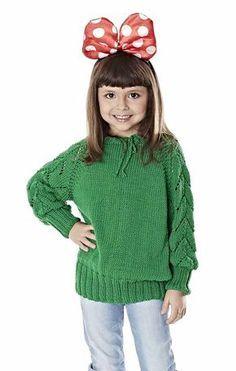 Blusa Tricô Mollet Infantil