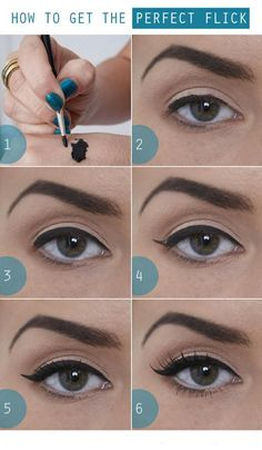 Priya Beauty Recipes - Tutorial On How To Get The Perfect Eyeliner.