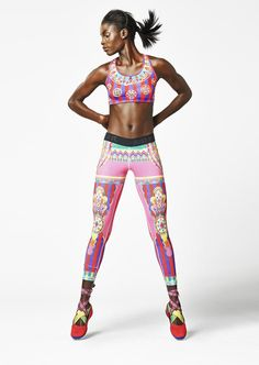 Jeneil Williams for Nike Tight for the Moment: Magical Kaleidoscope