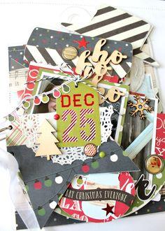 Clear Scraps Holiday Mixable Album - Scrapbook.com