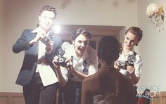 Tips on using flash with color gels at a wedding event | Venice Album Blog!