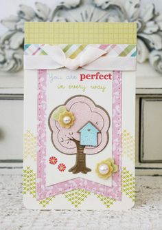 You Are Perfect...Handmade Card