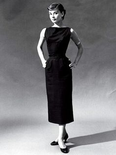 Audrey Hepburn in a 'Little Black Dress' by Givenchy