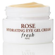 The Best New Skincare Products That Will Change Your Routine | The Stay-Put Eye Cream: Fresh Rose Hydrating Eye Gel Cream , $40, Fresh.com