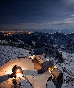 Top of the World in Switzerland. Oh my goodness why am I in America! Lol