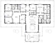 If you're after a big home with 6 bedrooms, I found this one for you! Click on the image to view it larger. If you look through all the details you can see it has a huge amount of storage – love that. I also like how the rumpus and all the bedrooms are together. …