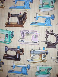 Sewing Machines by Ms. Sew & Sew.