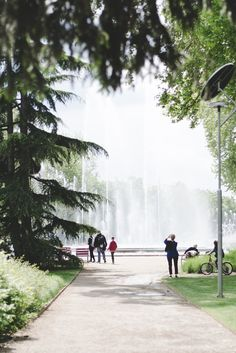 Musical Fountain on the Margaret Island, Budapest - from travel blog: http://Epepa.eu