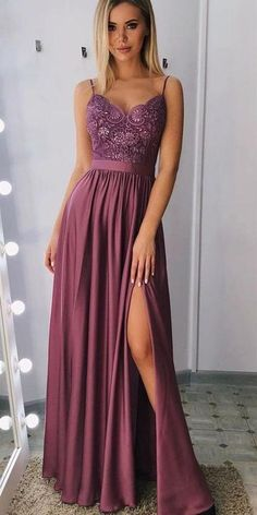 Mode inspo – score Long Prom Dress With Slit, Dresses For Graduation Party, Sexy V neck Evening Dre. Mode inspo – score Long Prom Dress With Slit, Dresses For Graduation Party, Sexy V neck Evening Dre. Formal Evening Dresses, Elegant Dresses, Sexy Dresses, Evening Gowns, Fashion Dresses, Evening Party, Long Dresses, Summer Dresses, Dress Long