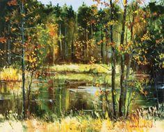The Lake by Gleb Goloubetski