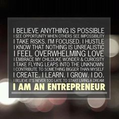 I am a creative multipreneur.