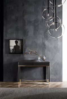 Bolle Sola pendant light – Everything for Decoration Modern Entryway, Entryway Decor, Luxury Interior Design, Interior Design Inspiration, Kitchen Furniture Inspiration, Point Light, Modern Console Tables, Decoration, Furniture Stores