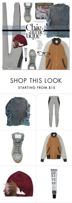 """""""Holiday Style : Chic-Athletic"""" by watereverysunday ❤ liked on Polyvore featuring Chanel, AllSaints, Lot78, Arco, Fendi, Paul Frank, Sweater, sweatpants, gym and cozychic"""
