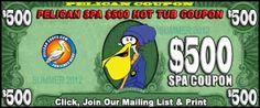 Save $500 bucks on your next Hot Tub !!