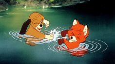fox and the hound... A good movie about friendship