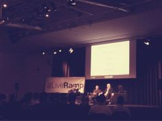 Just joining LiveRump summit. So many topics of adtech there are!! Exciting! #konekoinUS