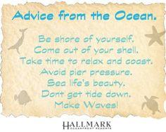 Advice From The Ocean Hallmarkinns Sunset Travel TTOT Family Love QuotesThe