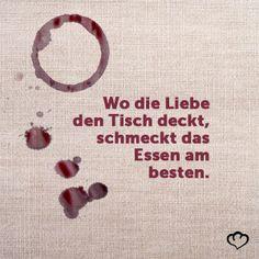 #Liebe #Essen #Partner #Tisch #TischDecken #Genuss